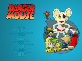 Danger Mouse by meromex-102