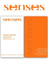 senses logo by nicy2002