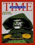 Doctor Doom time magazine's person of the year by TheGreatDevin
