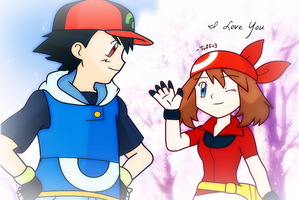 PKMN // May's Love For Ash by xXTuff-PegasisterXx