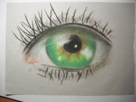 Green eye by Ralal500