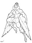 Marvel In Heels - Falcon by BevisMusson
