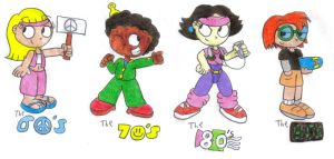 Little Einsteins - The Decades by SomePkmn-LovingDude