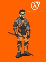 HL2 Gordon Freeman -First- by CrashyBandicoot