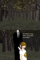 [MMD] Slender Forest stage (download) by Wampa842