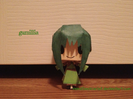 EC Papercrafts - Gumillia by RemiFlanScarlet
