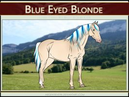 6164 AS Blue Eyed Blonde - SOLD by Argentievetri