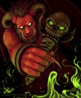 Orcus by miserymirror