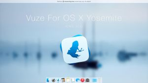 OS X Yosemite Vuze by JasonZigrino