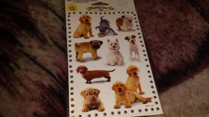Dog stickers by Akitas237collections