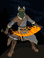 Argonian Nightblade by LegendaryJusticar99