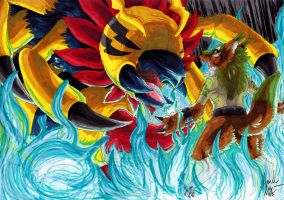 Digimon Arcana Event 3 Part 2 by Gomis