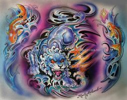 Koi Foo by Artistic-Tattooing