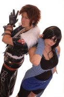 Leon and Rinoa by Ivycosplay