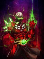 Ermac Mortal Kombat by Grapiqkad