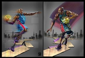 Two Kobe by A-BB