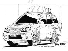 Toyota Fortuner by ngarage