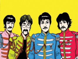 SGT. PEPPER era BEATLES by phymns