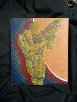 Master Chief Proj. 1 fin. by NeroJaguar