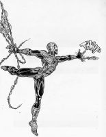 Spider-Man Sketch for MARVEL BLOG by NelsonRibeiro
