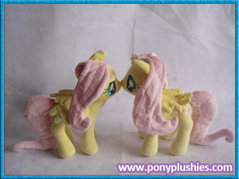 Final Fluttershy Side View by PonyPlush