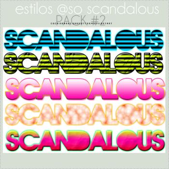 so scandalous Styles by cocaineandcigarretes
