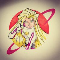 Saturn girl instagram request by bunleungart