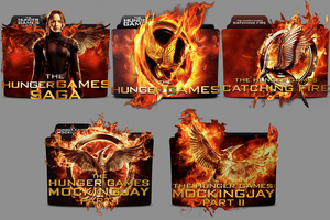 The Hunger Games folder icon by Andreas86