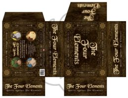 The Four Elements Box Template by JenTheThirdGal