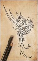 phoenix tattoo design by johngiannis27