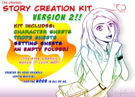 Story Creation Kit V. 2 by djwagLmuffin