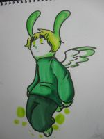 Flying Mint Arthur by Mister-Pototo