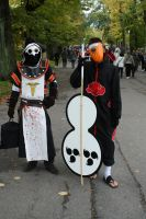 Obito and Plague Doctor Cosplay by Maspez
