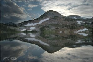 Libby Lake Afternoon by wyorev