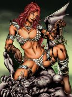 Red Sonja by igorferrazjp