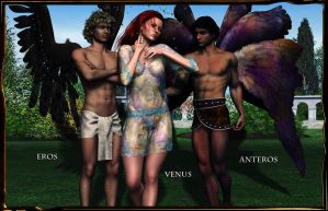 VENUS AND HER BOIS