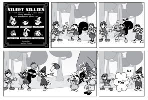 Silent Sillies 112 - Funny Fantasy 8 by JK-Antwon