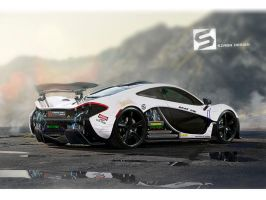 Mclaren P1 Electric fail... by Szaba18