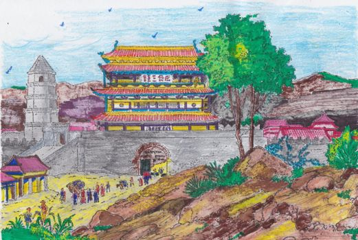ANCIENT CHINA 3 by RighiCarlo