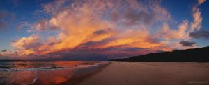Sunset on Stradbroke by succinctlyverbose
