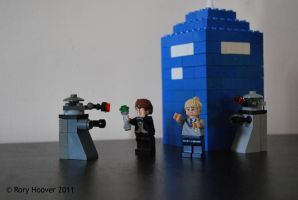 LEGO Doctor Who by devinhoo