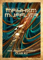 CM - Mayhem - Muffler Flyer by skeamworkshop