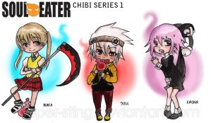 Soul Eater Chibi Series 1 by paper-sting