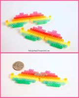 Rainbow Hipster Stache by MelodyMaid