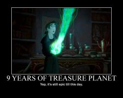 Treasure Planet Motivational by 23jk