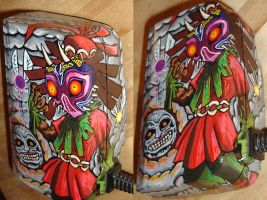 Skull Kid Detail by TheLandoBros