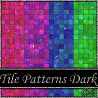 Cris Tile Patterns Dark by only1crisana