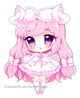 Pink Princess [With Speedpaint!] by Sueweetie