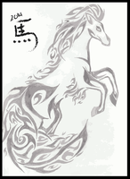 Year of the Horse: Tribal by Friend-Owl