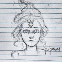 Practicing the Flame Princess by Eyedowno